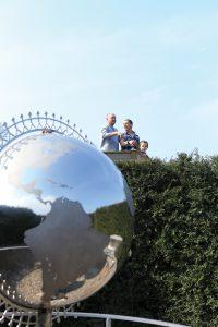 Stockeld Park Maze Globe View