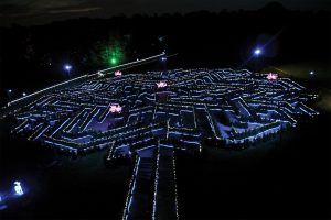 Stockeld Park Maze Illuminations